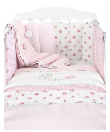 Nravitsya Vse Iz Etoj Kollekcii V Mothercare Odeyalki Prostynki Pokryvalki Girls Cot Bedding Cot Bedding Sets Bed