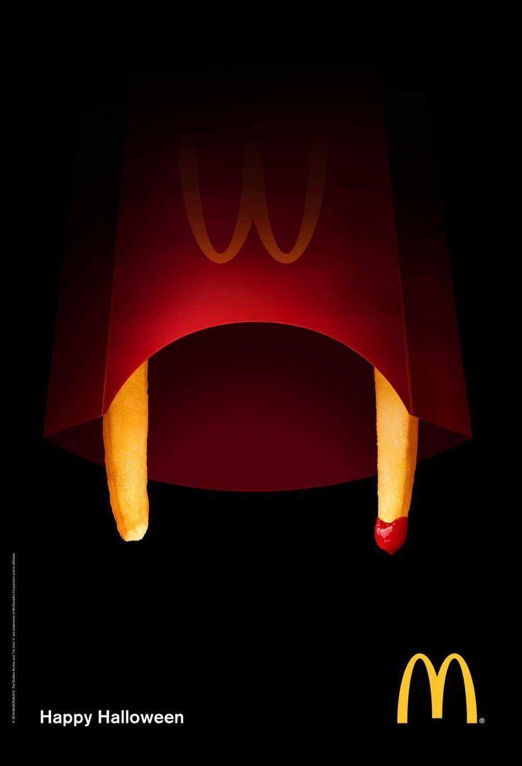 Halloween Creative Ads.Creative Advertising Ads Advertising Ads Creative