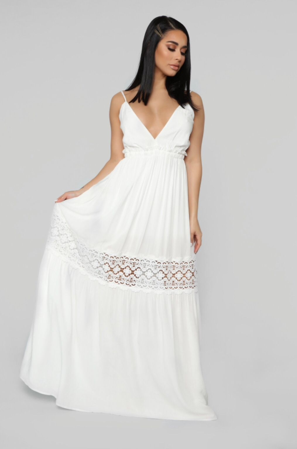 35cb8c503 I Got Your Back Maxi Dress - White in 2019 | Stephens rao | White ...