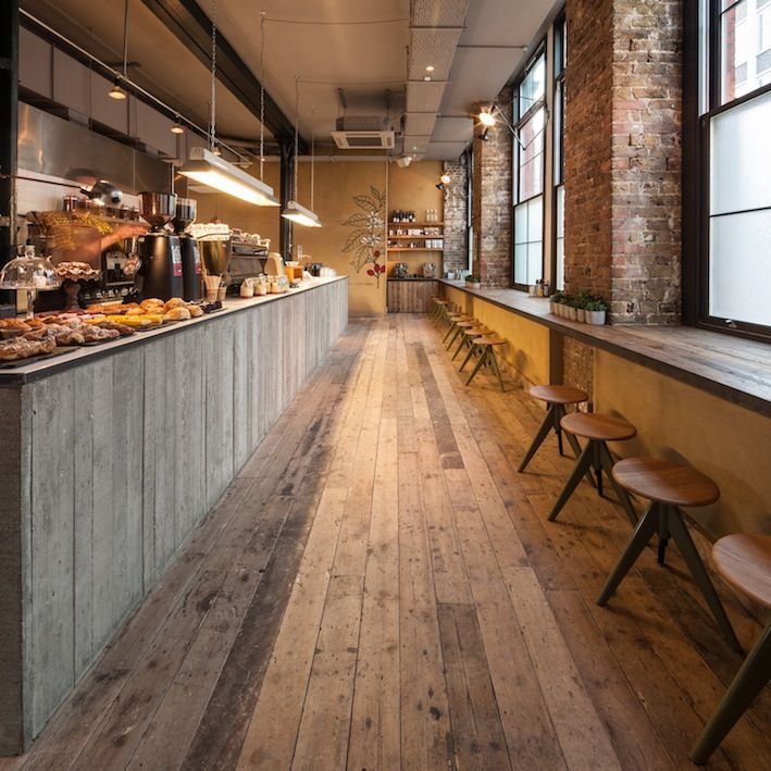 15 Distinguished Rustic Home Bar Designs For When You: Coffee Shop Bar, Rustic