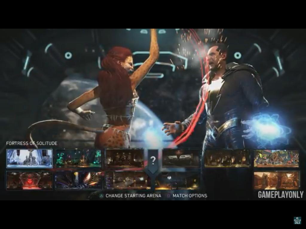 Cheetah Vs Black Adam Loading Match Screenshot Injustice 2 Cheetah Dc Injustice Injustice 2