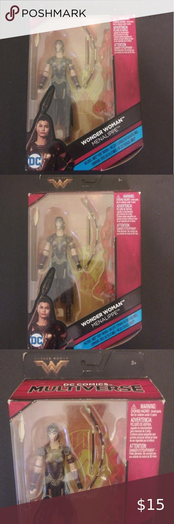 Wonder Woman Menalippe Action Figure Wonder Woman Menalippe Action Figure In Original Packaging Unopened Mattel T Action Figures Wonder Woman Baby Wonder Woman