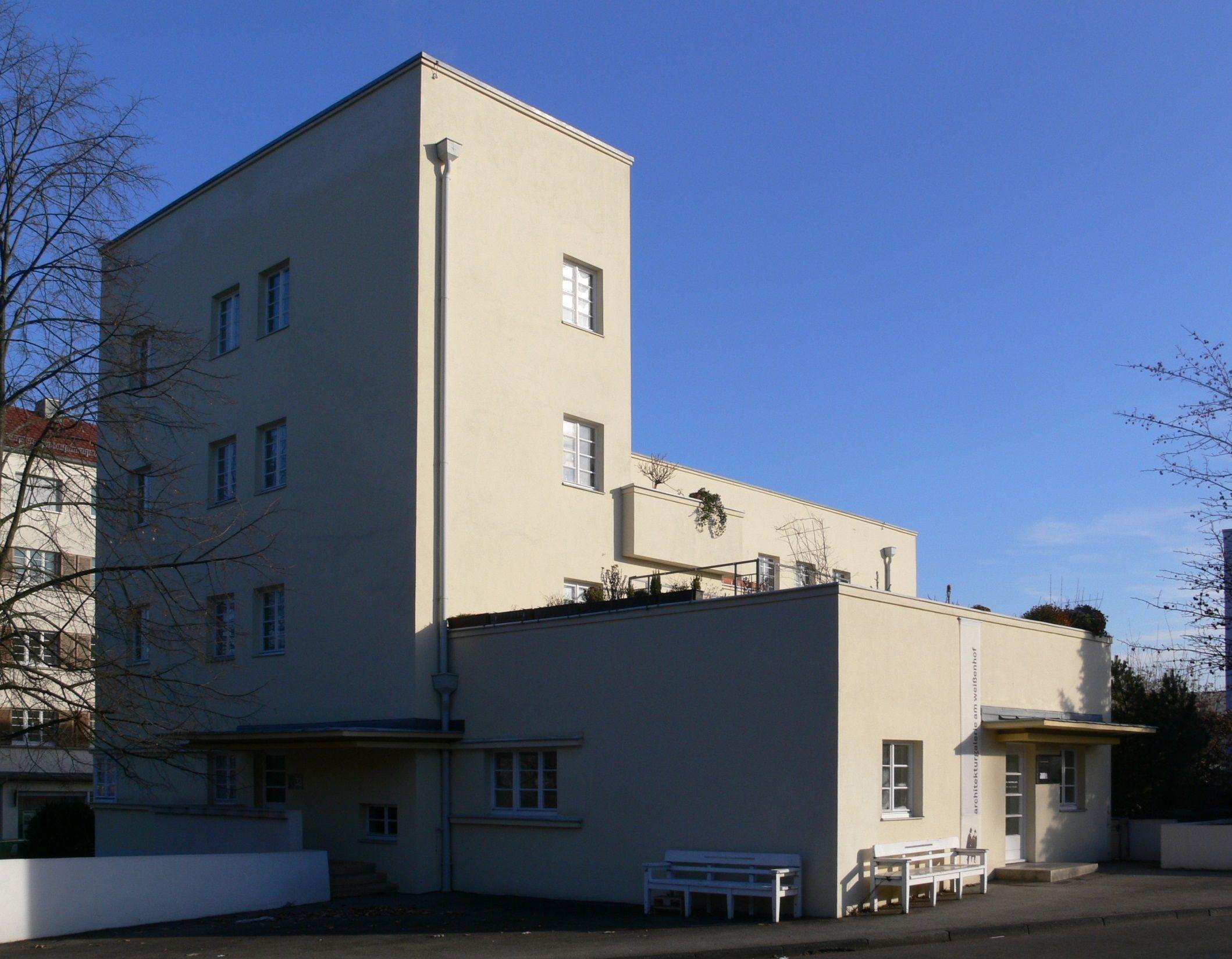 Peter Behrens Stuttgart Wei Enhofsiedlung Haus Von Peter  # Muebles Peter Behrens