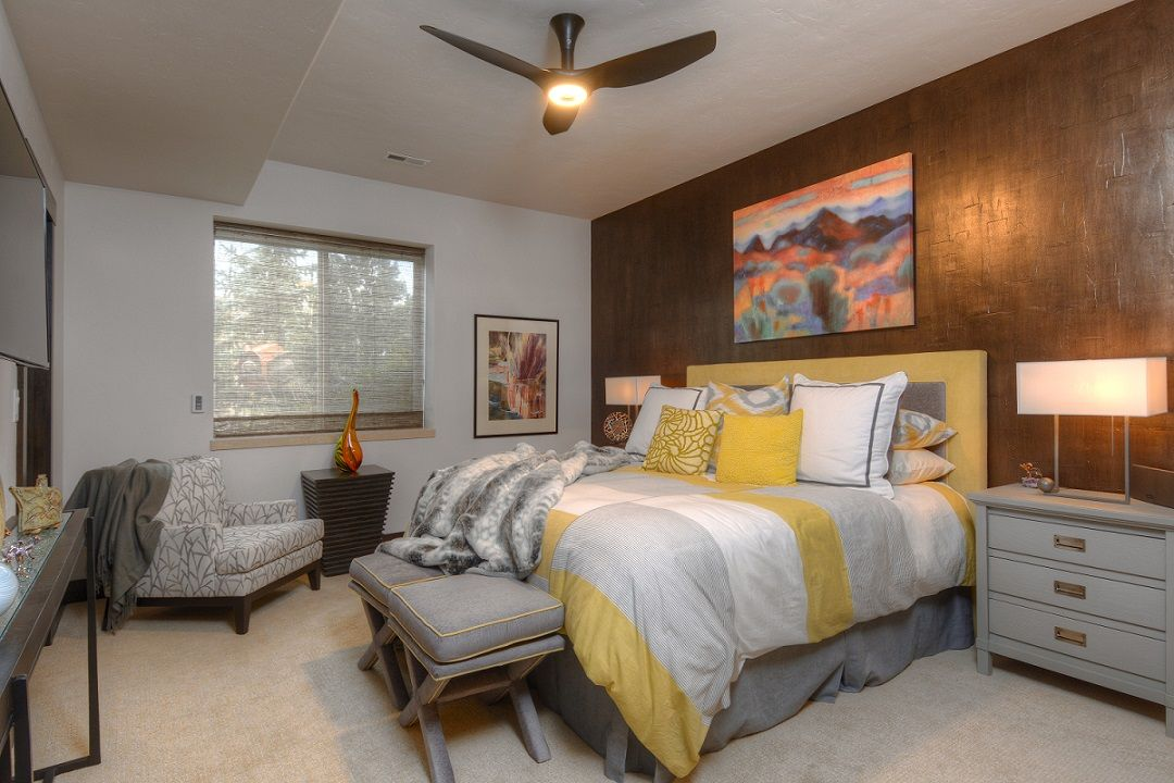 metallic paint used for an accent wall adds a dramatic on designers most used wall color id=24191