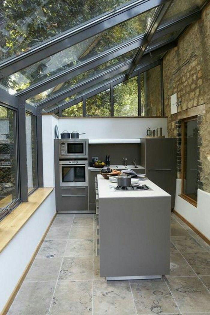 48+ Cuisine dans une veranda inspirations
