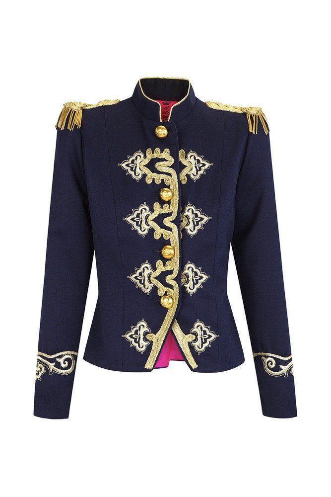 Condesa Maestre  lacondesa  militaryinspiration  charreteras  gold  jacket   madeinspain 014d83ede864