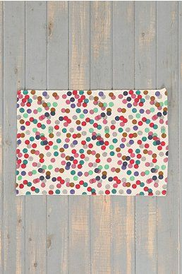 Plum & Bow Polka Dot Rug - Urban Outfitters (tons of cute, cheap rugs!)
