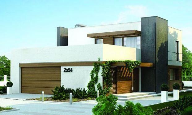 Casa minimalista de 2 plantas casa campestre pinterest for Casa modelo minimalista