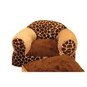 Ozark Mountain Kids Giraffe Overstuffed Chair