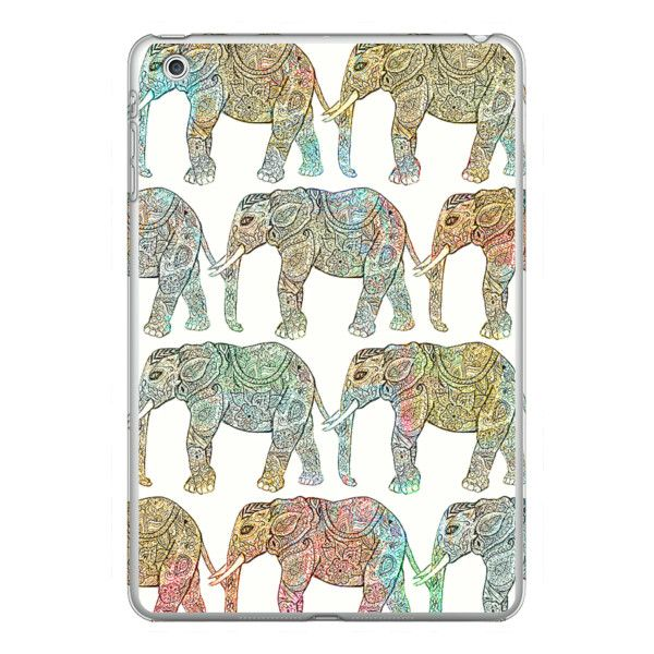 iPhone 6 Plus/6/5/5s/5c Case - Whimsical Ethnic Floral Paisley... ($40) ❤ liked on Polyvore featuring accessories, tech accessories, iphone case, floral iphone case, iphone cover case, slim iphone case and elephant iphone case