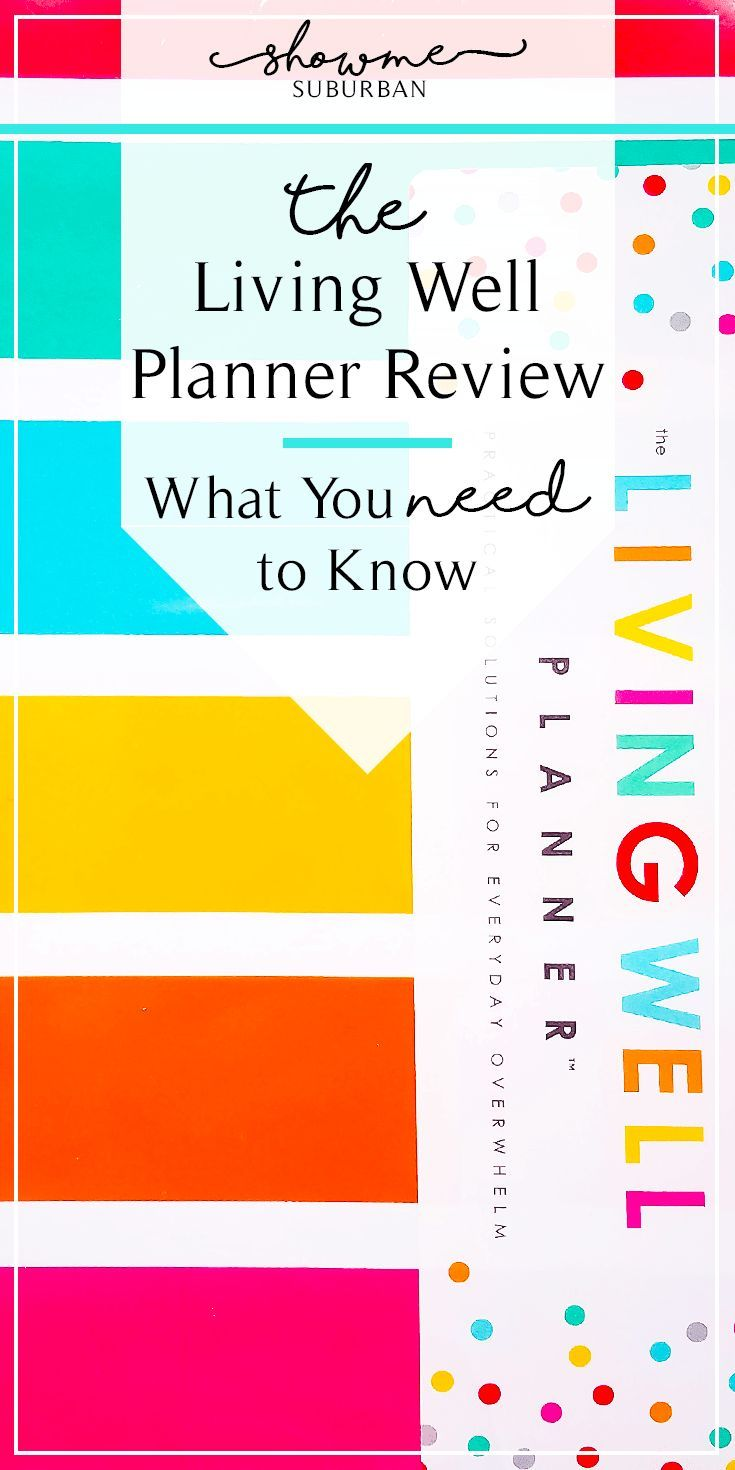 Living Well Planner Review What You Need To Know  Meal Planning