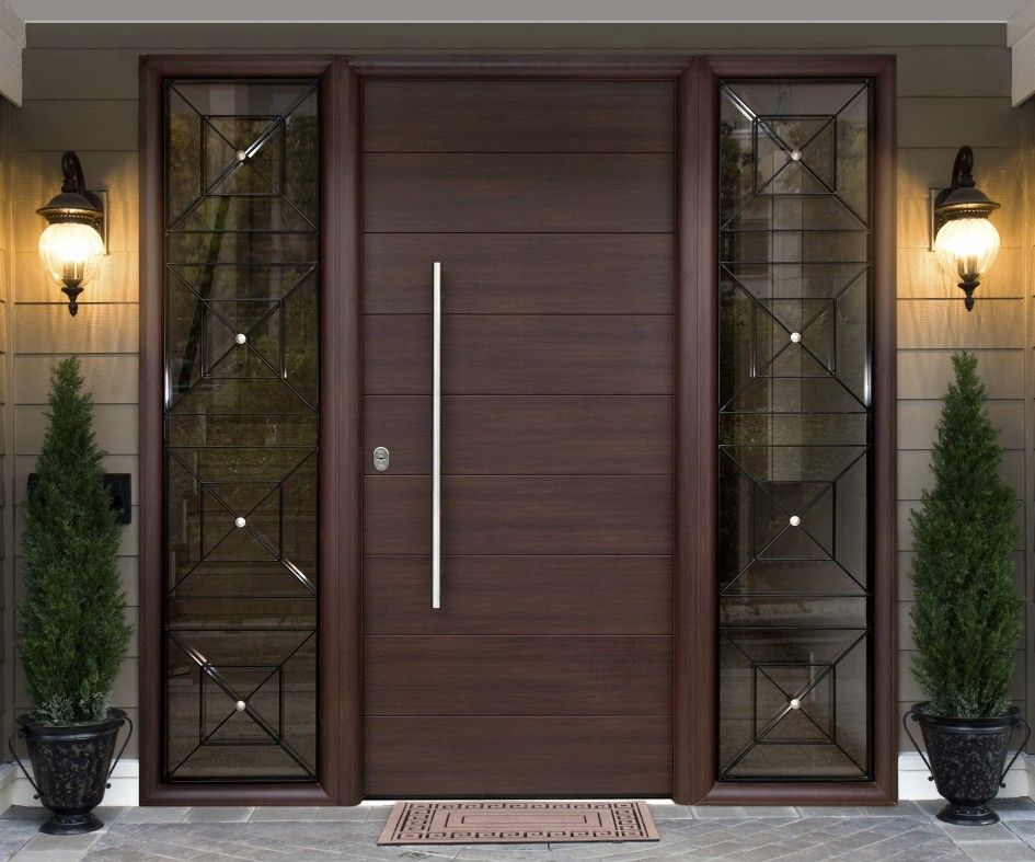 20 amazing industrial entry design ideas doors entrance for Plain main door designs