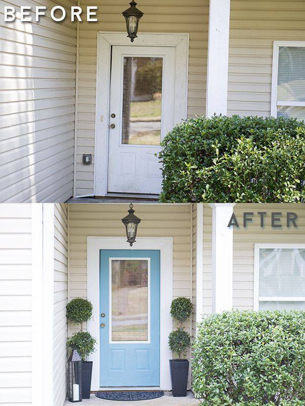 Front Door Makeover Findyourcolor Sponsored For The Home Pinterest
