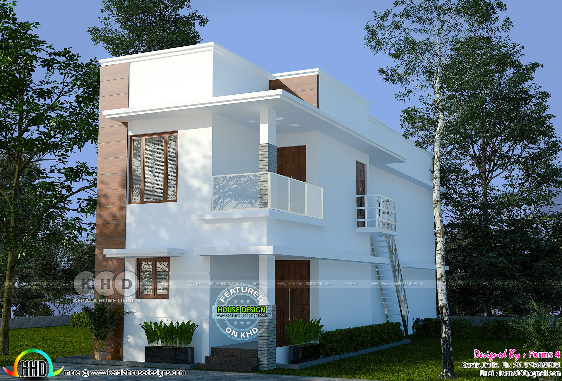 Contemporary Simple Budget Oriented Design 22 Lakhs Interior Architecture Design House Designs Exterior House Styles