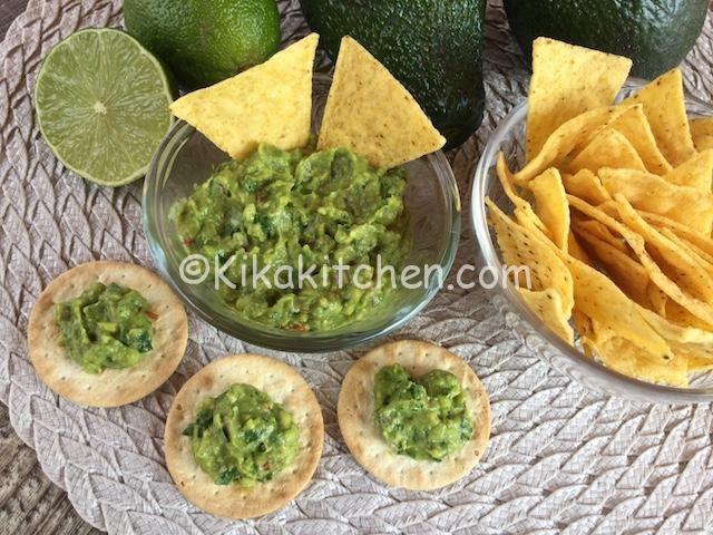 Ricetta Tortilla Chips Bimby.Salsa Guacamole Bimby Facile E Veloce Kikakitchen Ricette Guacamole Salse Con Avocado