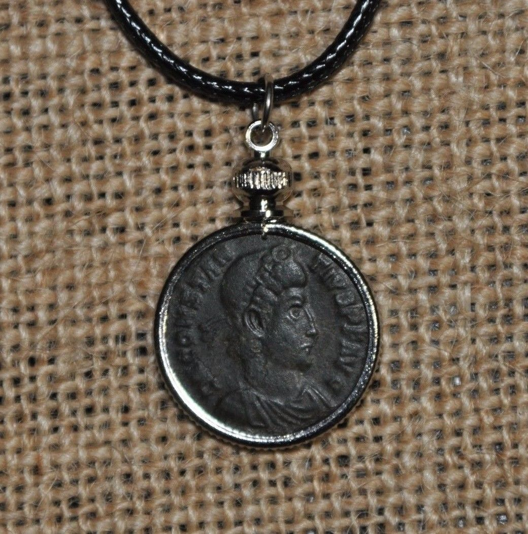 Constantine The Great House Roman Emperor Constantius Authentic Coin Necklace  Price : $28.99  Ends on : 3 weeks Order Now