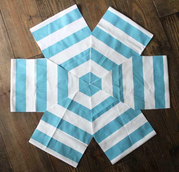 how to make a hexagon DIY floor pouf   Floor pouf, Tutorials and ...
