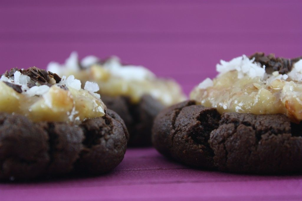 German Chocolate cake Cookies...you have got to be kidding!!