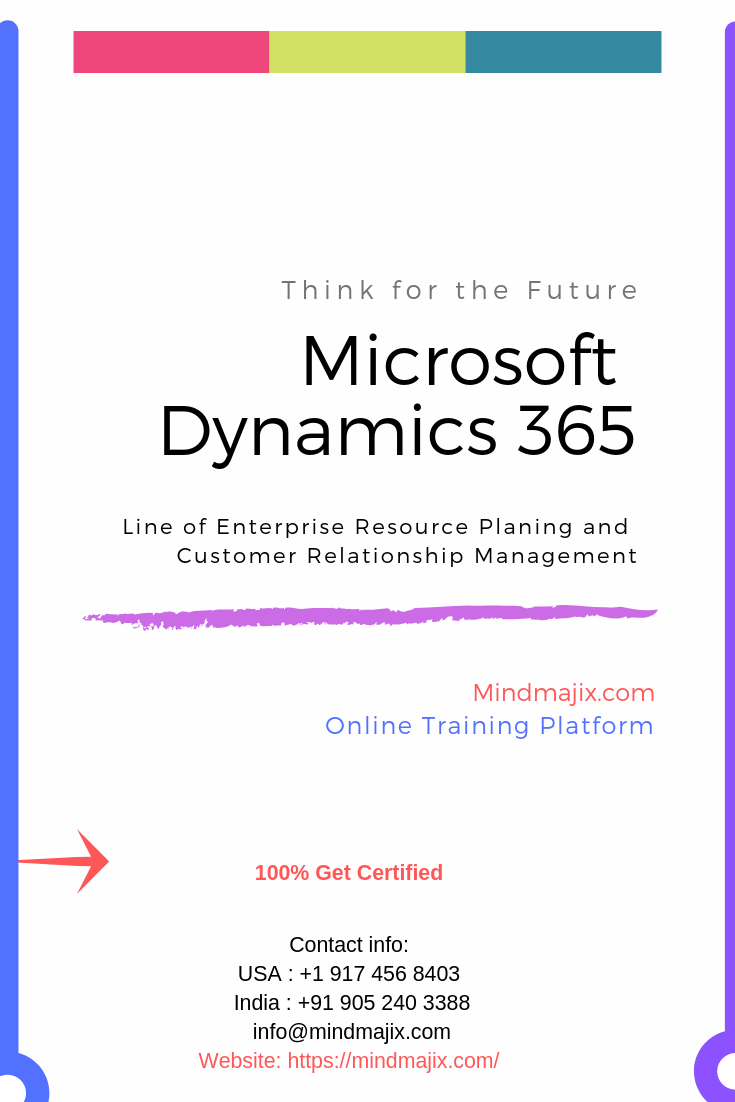 Microsoft Dynamics 365 Online Training Course Certification