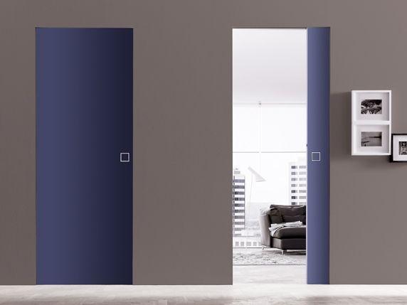 porte coulissante laqué syntesis line | Interior Design and ...