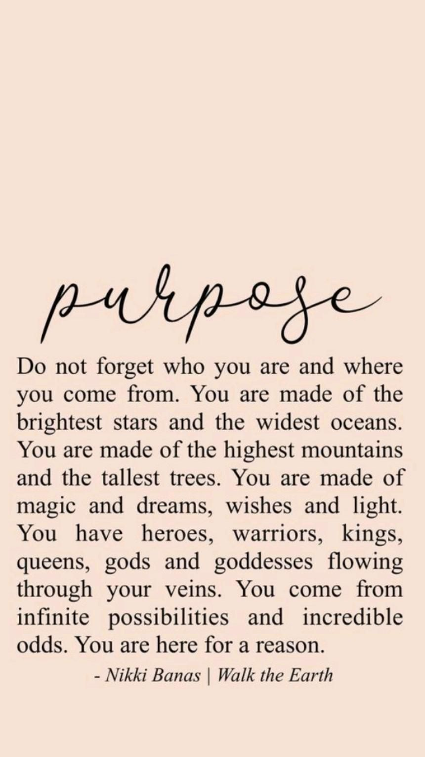 Know Your Purpose 💥 In Your Life.