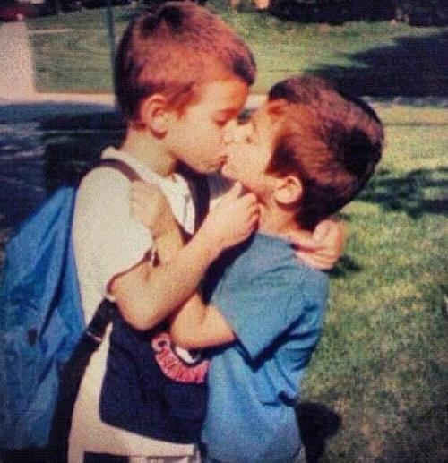 Cute Gay Boys Kiss
