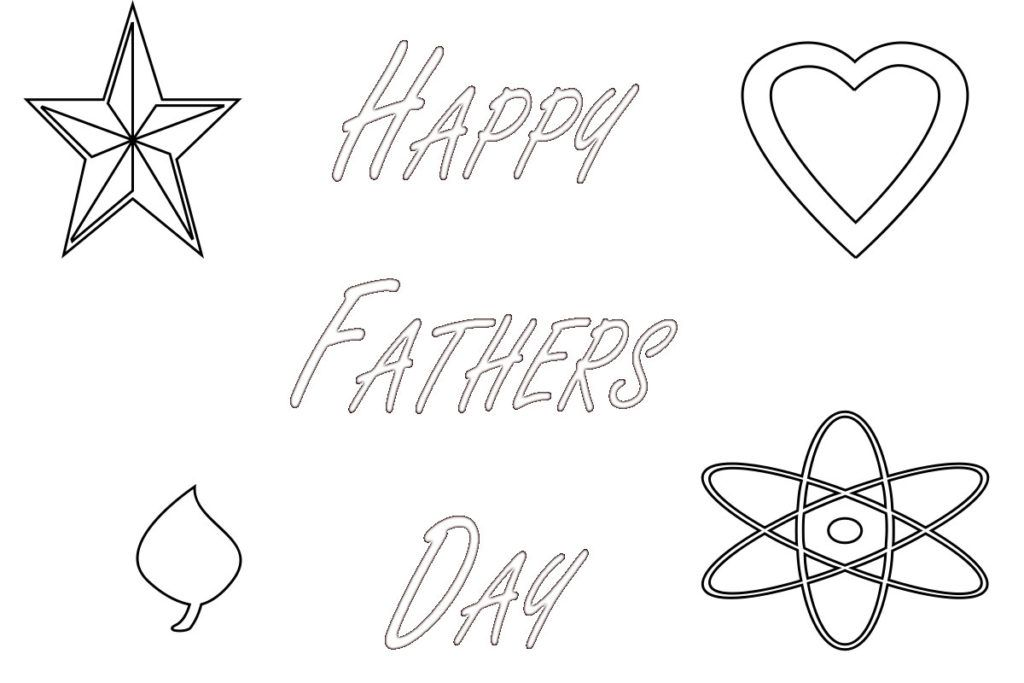 Happy Fathers Day Coloring Pages Fathers day coloring