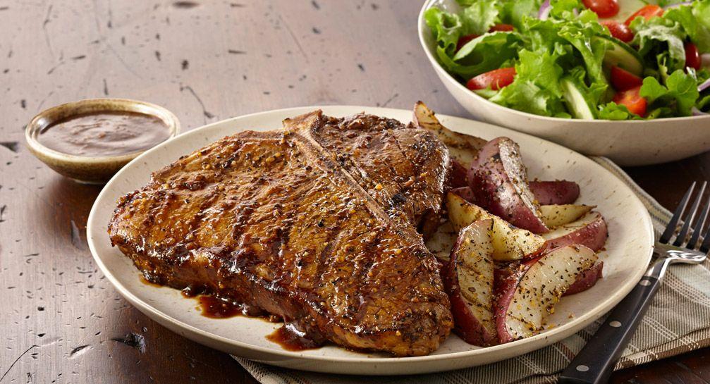 how to make t bone steak on the stove