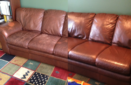 Leather Sofa Color Repair