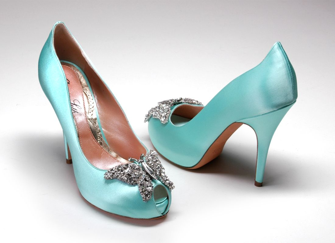 Elegant Heels With Butterfly