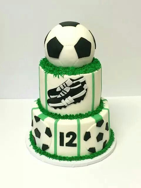 Football soccer cake Cake Pinterest Soccer cake Cake and