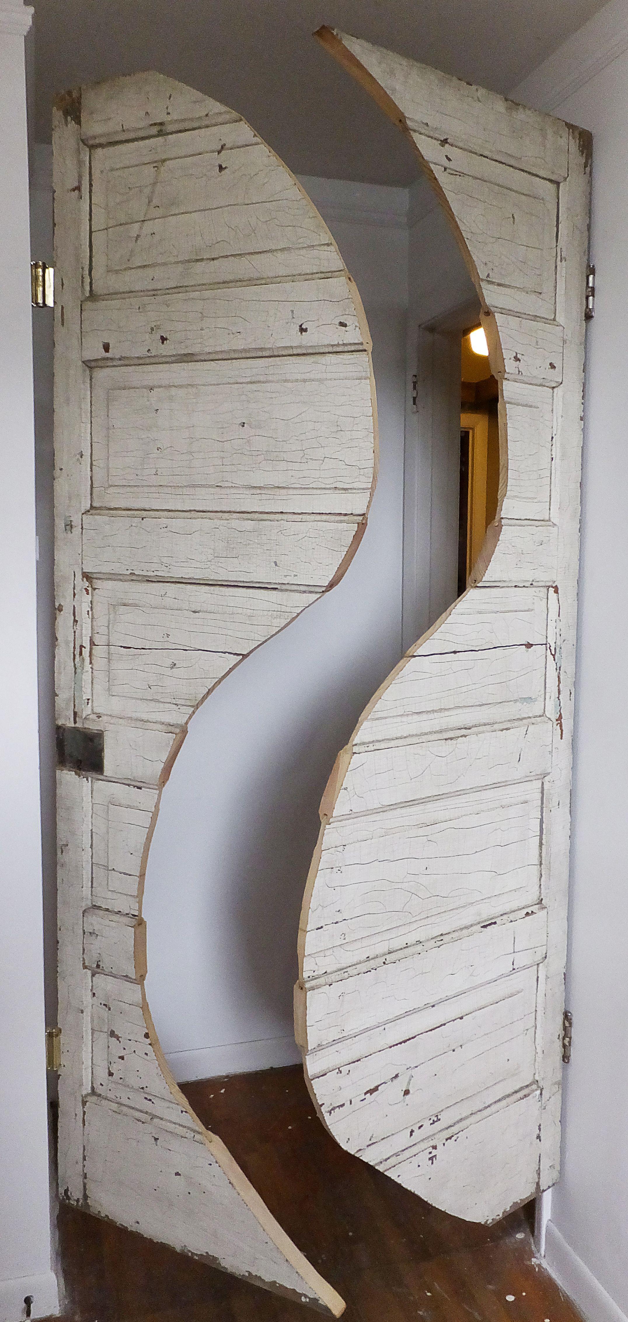 Handcrafted custom swinging saloon doors - Velvet Cowboy Double Swing Curvy Saloon Doors Diyassist