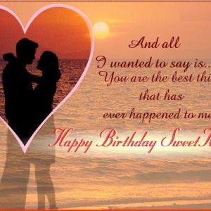 Quotes For Wishing Birthday To Girlfriend