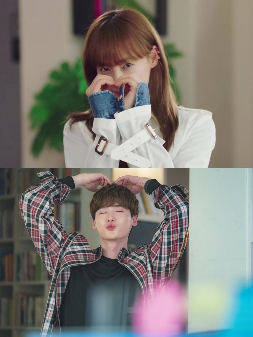 "Lee Jong Suk y Lee Na Young comparten dulces momentos mientras ""Romance Is A Bonus Book"" llega a su episodio final | Soompi"