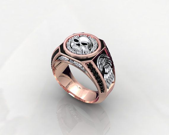 Harley Davidson MotorCycles Ring 1JMW9 by PiettroJewelry on Etsy