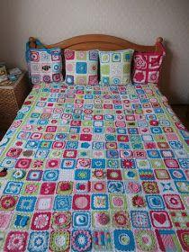 366 granny's-project 2012: Alle vierkantjes bij elkaar!