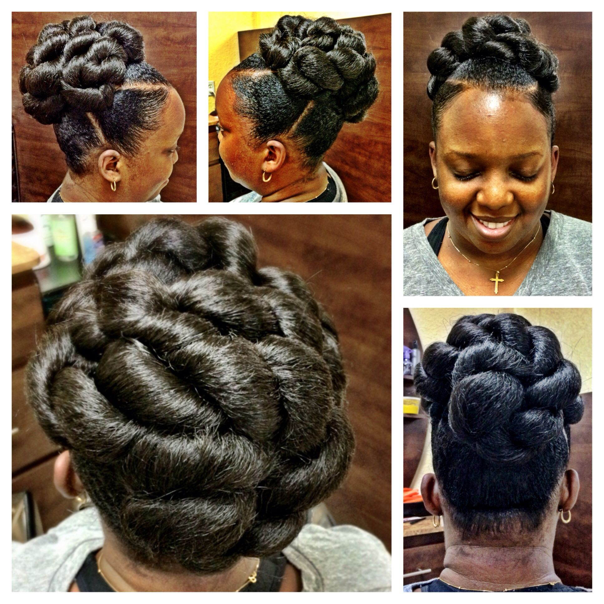 Enjoyable Pin By Kinks Couture On Natural Hair Updos By Kinks Couture Hairstyles For Women Draintrainus