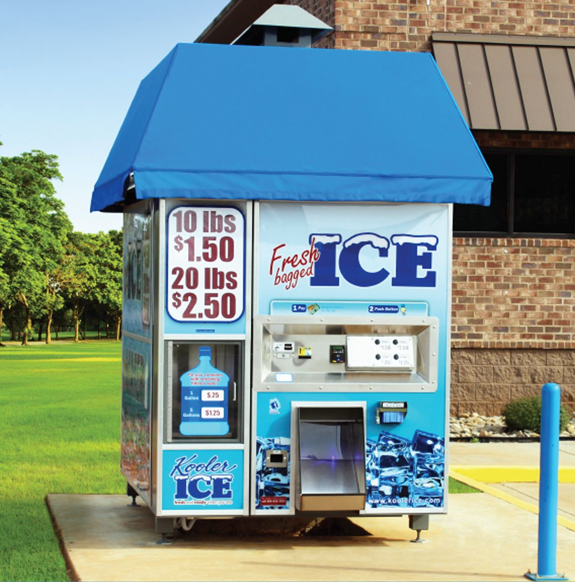 Introducing the new im1500 from kooler ice vending