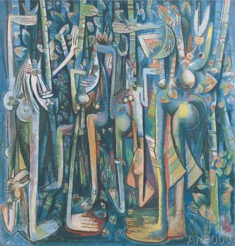 Wilfredo Lam - The Jungle, 1943