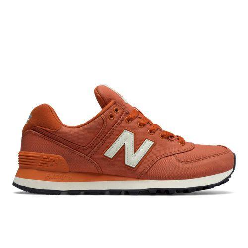 574 Canvas Women's 574 Shoes Orange (WL574MDA)   Products