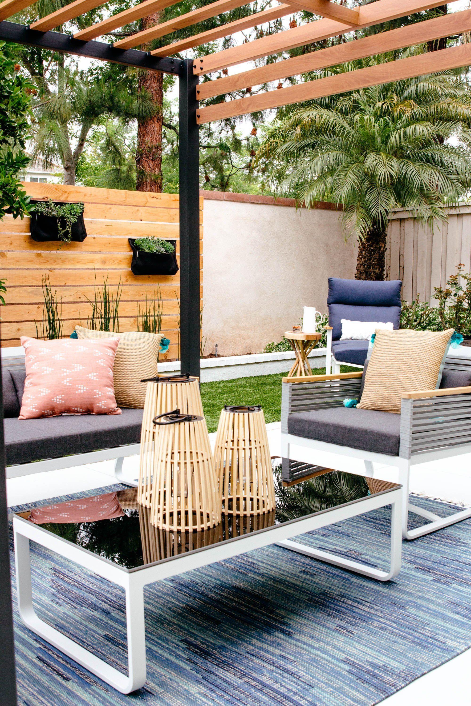 Backyard Makeover Patio Furniture Anita Yokota Modern Outdoor Patio Modern Patio Furniture Mid Century Modern Outdoor Furniture