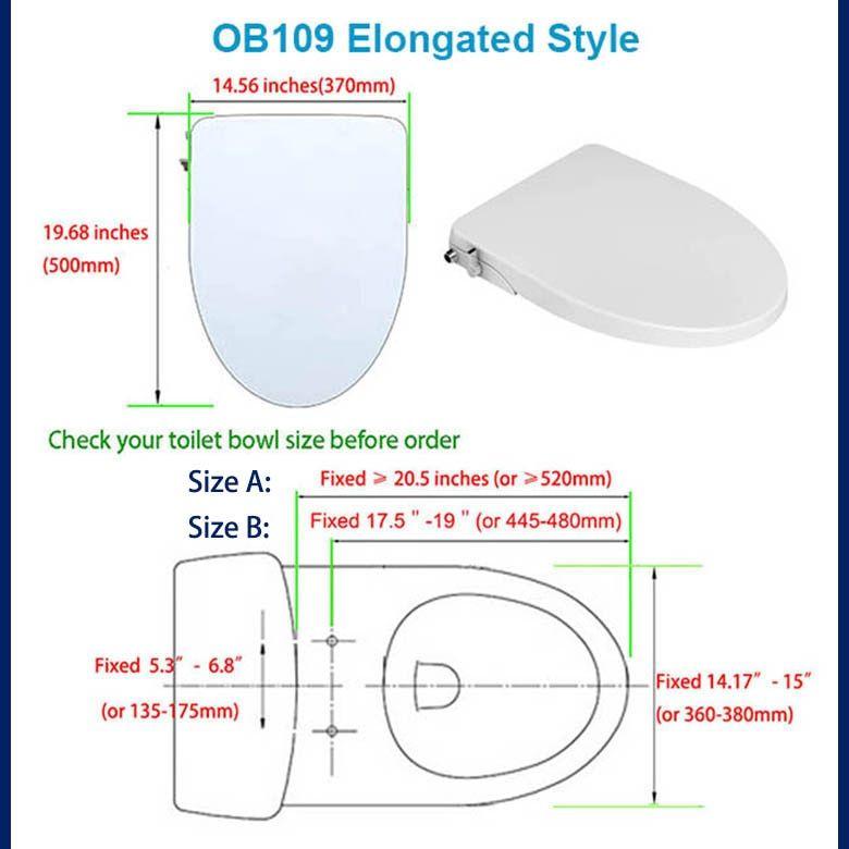 Hibbent Non Electric Bidet Toilet Seat Dual Nozzles With Images