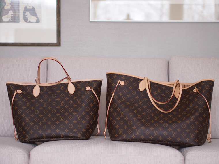 Lindsay S Diaries Neverfull Mm Vs Gm Great Photos Men S