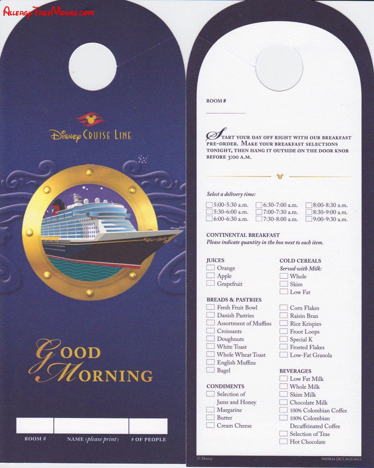 disney cruise line application form