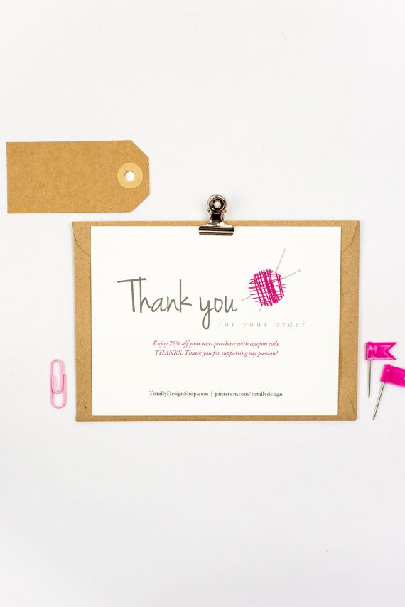 Super quick and affordable way to create thank you cards for your ...