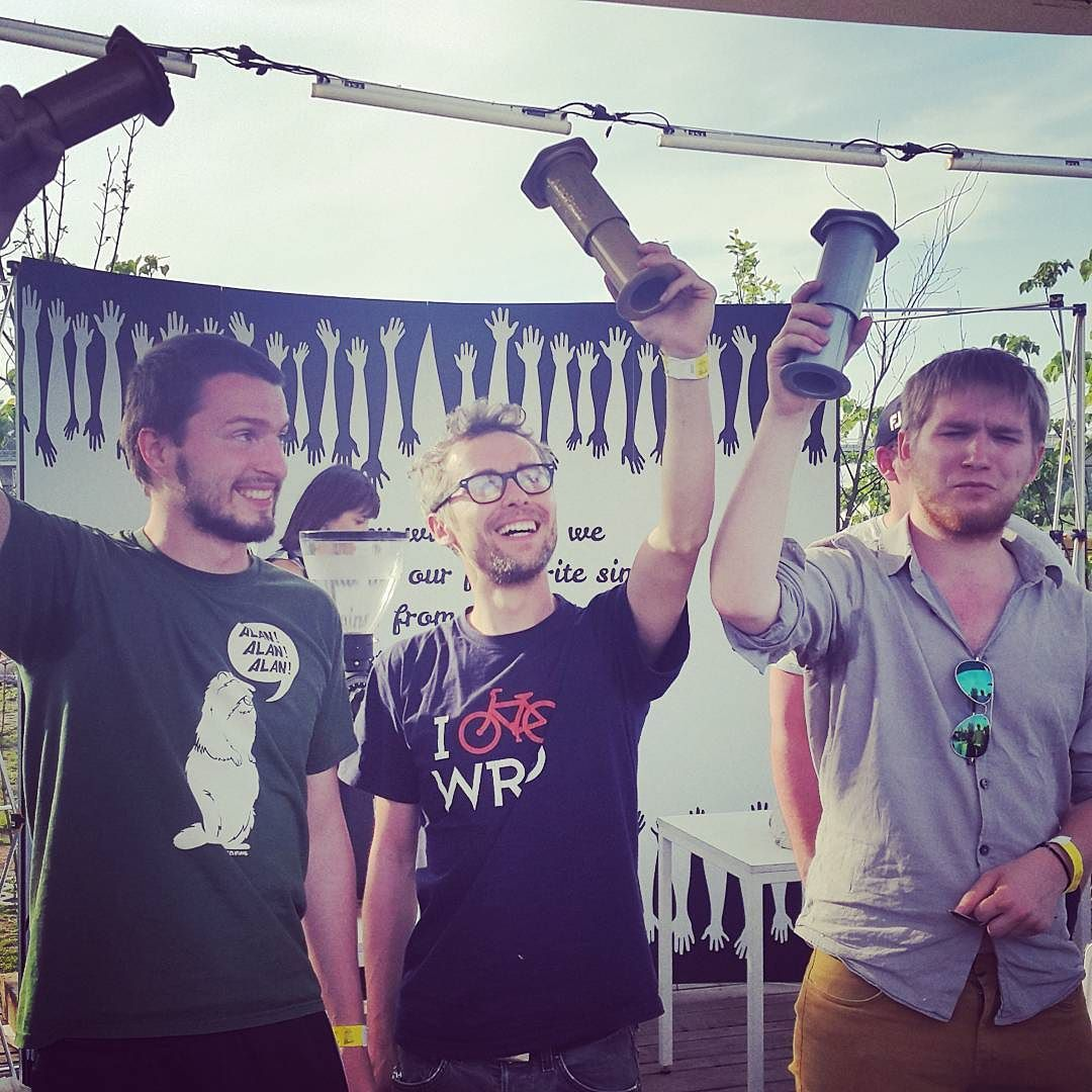 Polish Aeropress Championship top 3. Congrats to Filip