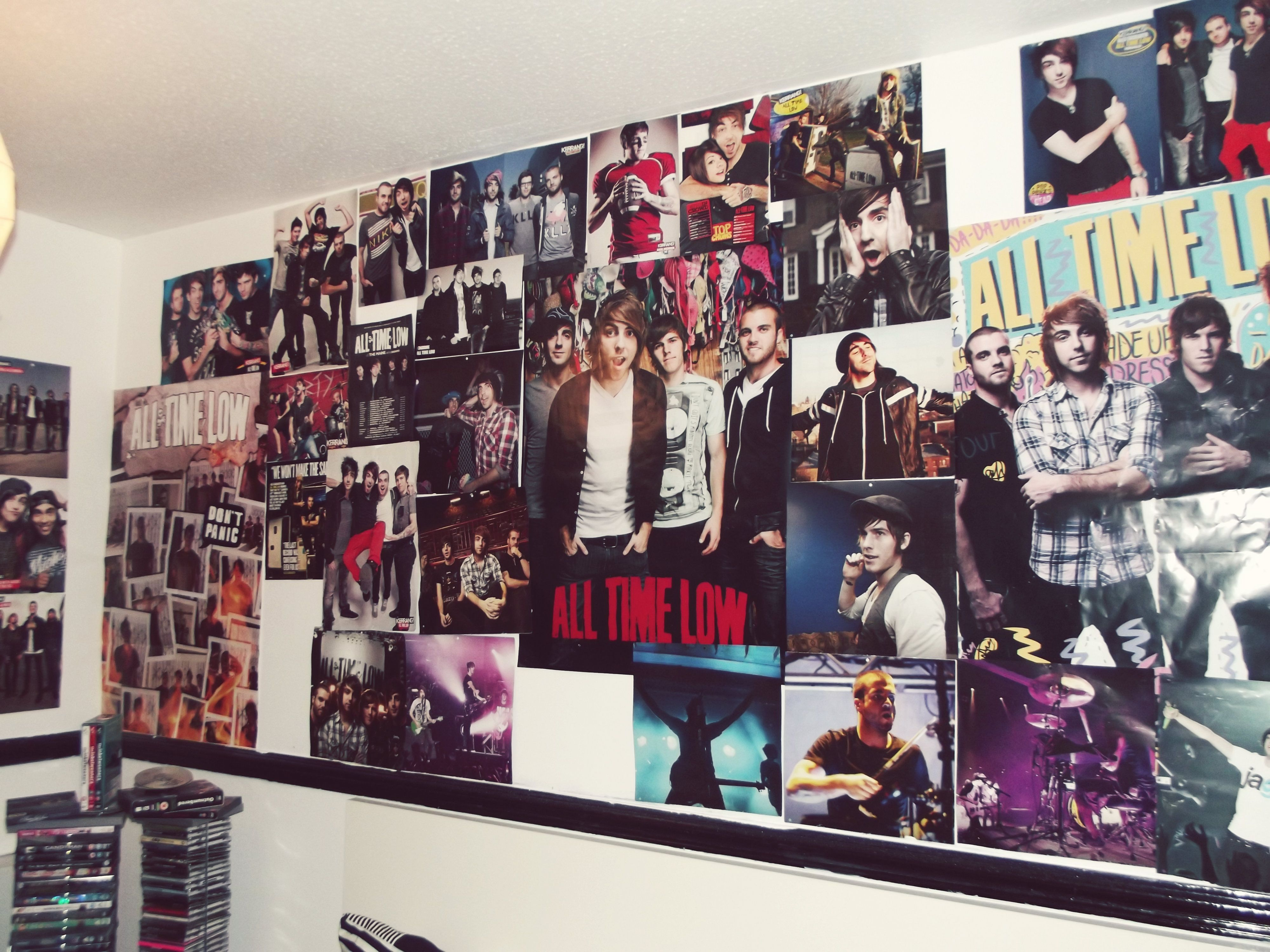 wall posters for bedroom. all time low posters bands music  My dream room Pinterest Room