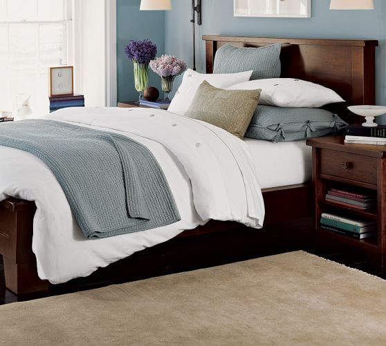 Bedroom Sets Pottery Barn sumatra bed & dresser set | pottery barn | master bedroom