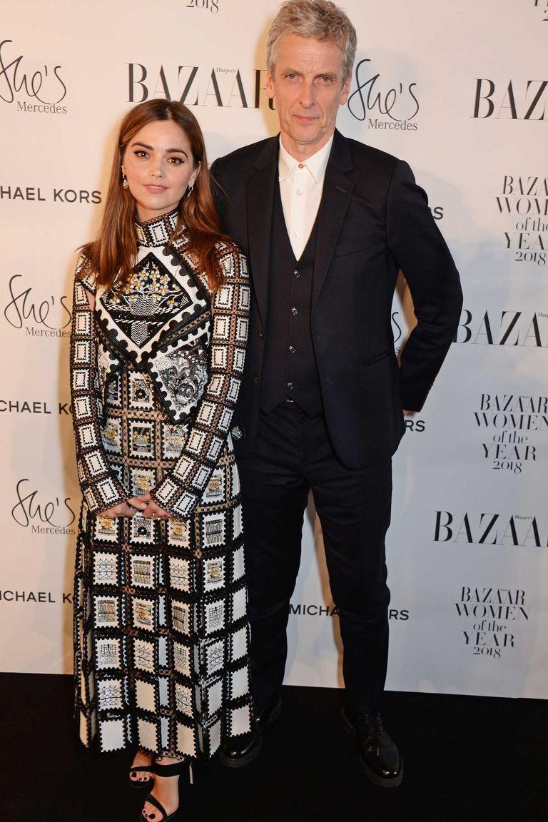 Watch Peter Capaldis touching speech about Jenna Coleman