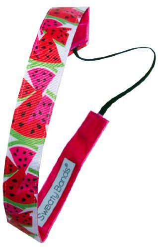 Sweaty Bands Watermelon Crawl 1 Fitness Headband * Check